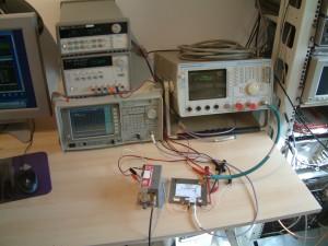 RX Test setup