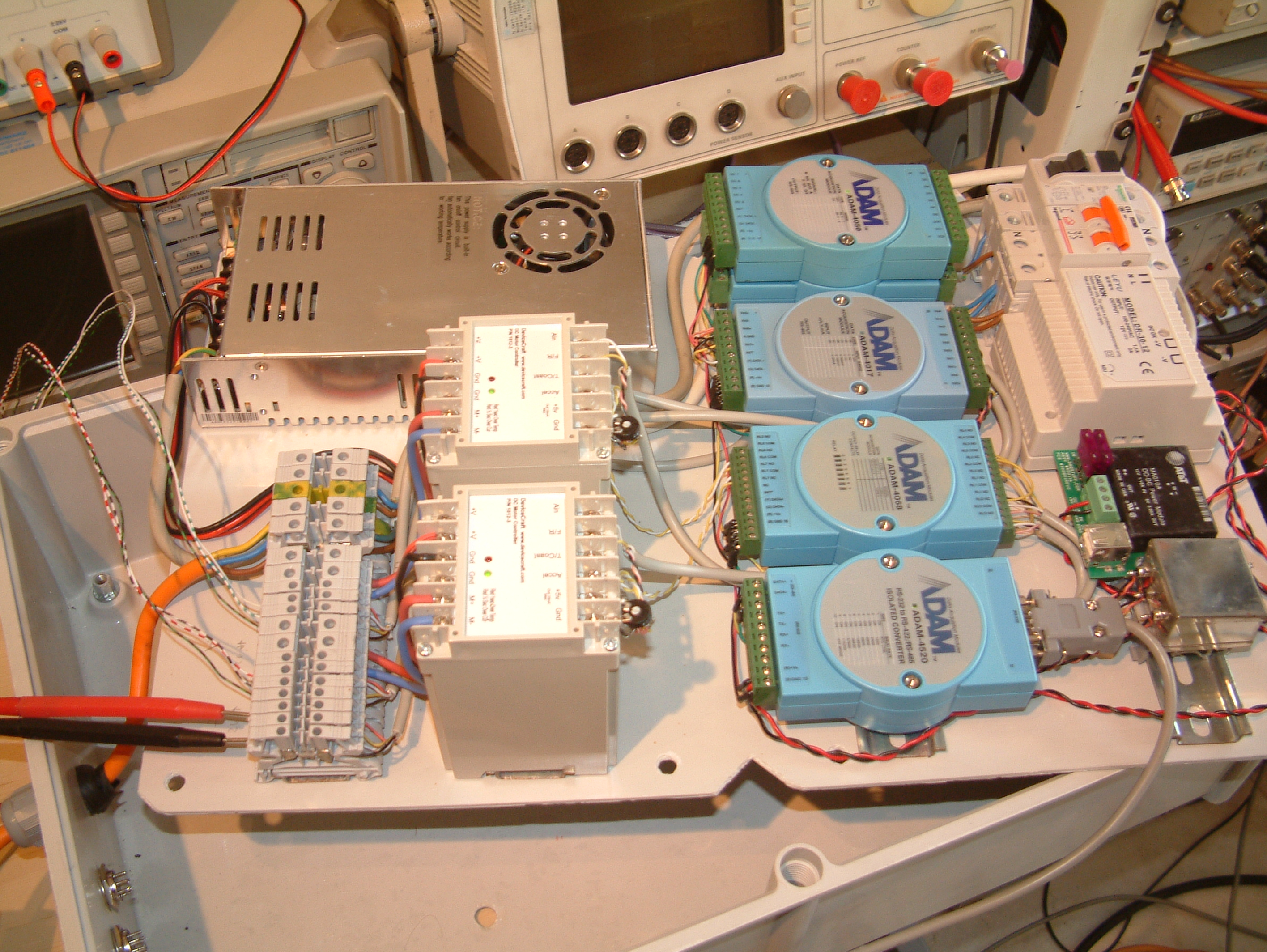 Inside Dish Controller