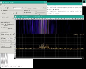 Full FM band, centered at 108Mhz