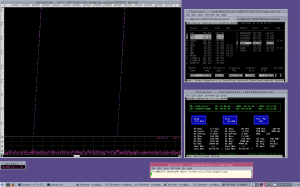 Yutu rover using rtlsdr + baudline