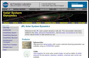 JPL Horizons