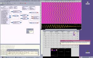 RTLSDR baudline cross-correlation with 1 antenna disconnected