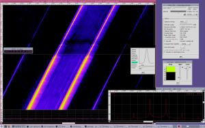 Signal integration from the Yutu landing