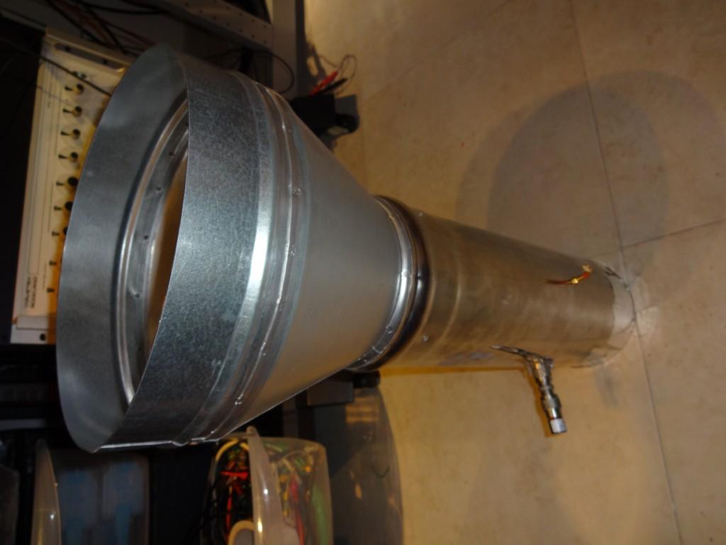1296 Dual mode feedhorn