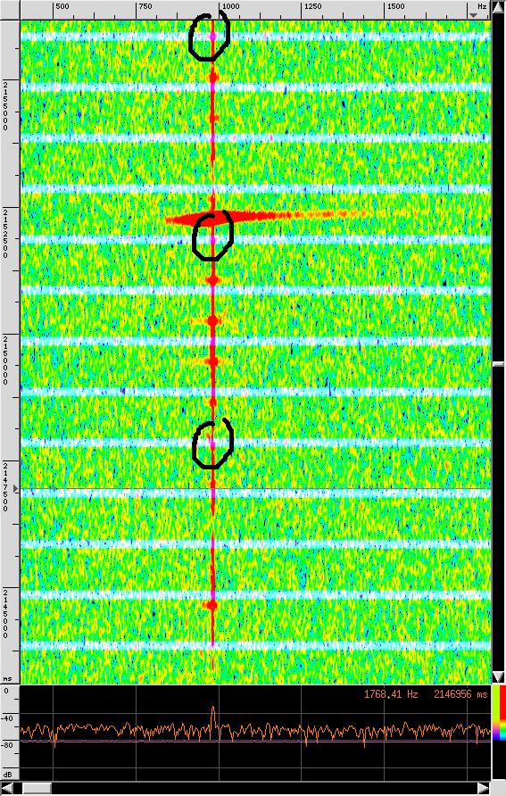 Graves radar 1PPS correlation